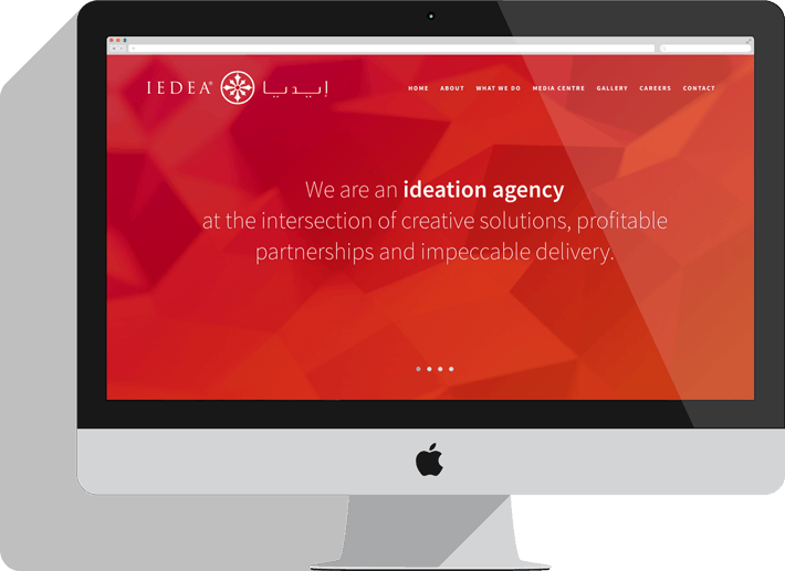 IEDEA website redesign and WordPress development